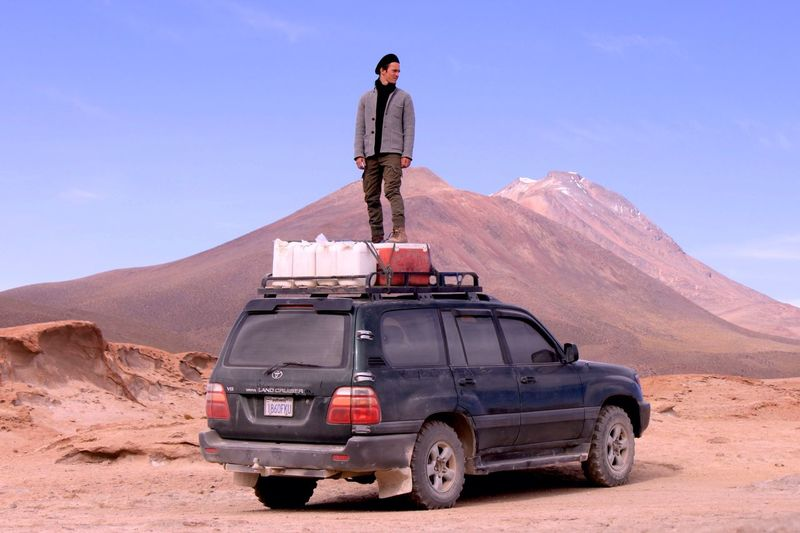 The Drive Climbing up your own car and see the beautiful landscape and the good way to go ! Salar De Uyuni Bolivia Southamerica Discovering Exploring Hanging Out Taking Photos Hello World Enjoying Life Check This Out Exploring New Ground Traveling Travel Photography