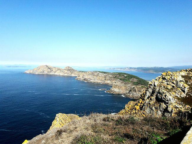 Islandlifestyle Sea And Sky Seascape Oceanscape Atlantic Ocean Islas Cies Galicia Nearmyhome Sea Horizon Over Water Beach Outdoors No People Clear Sky Blue Nature Day Water Sky