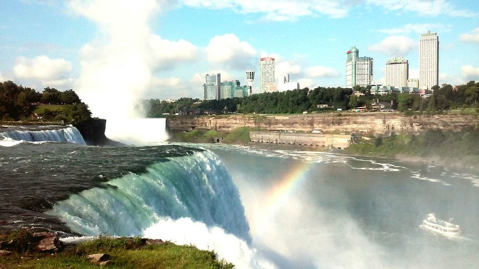 Niagara Falls- such a beautiful view from America Natures Beauty