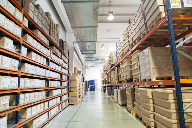 Goods Industry Logistics Service Storage Space Bookshelf Box - Container Cardboard Box Day Depot Distribution Warehouse Freight Transportation Indoors  Industry Large Group Of Objects Library Logistic No People Shelf Shelves Shipping  Stack Storage Storage Compartment Storage Room Store Storehouse Warehouse