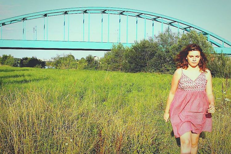 Grass Only Women Front View One Person One Woman Only Green Color Happiness Leisure Activity Outdoors Real People People Portrait Young Women Adults Only Young Adult Day Adult One Young Woman Only Hendrix Bridge Sidro EyeEmNewHere EyeEmNewHere Women Around The World Millennial Pink Long Goodbye