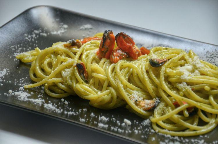 Food Porn Awards Spaghetti Cozze Mussels Pecorino Italiancheese MadeinItaly Foodporn Foodphotography The Foodie - 2015 EyeEm Awards