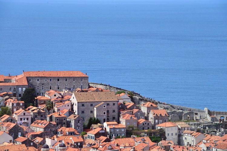 By The Seaside Oldtown Adriatic Sea Summer Daytime