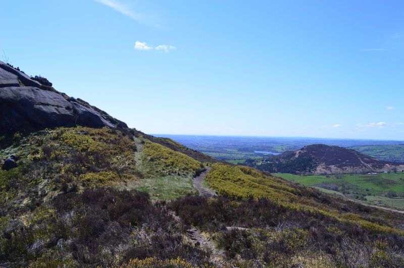 Staffordshire Staffordshire Moorlands The Roaches Beauty In Nature Day Heather Landscape Mountain Nature No People Outdoors Range Scenery Sky The Roaches Leek The Roaches