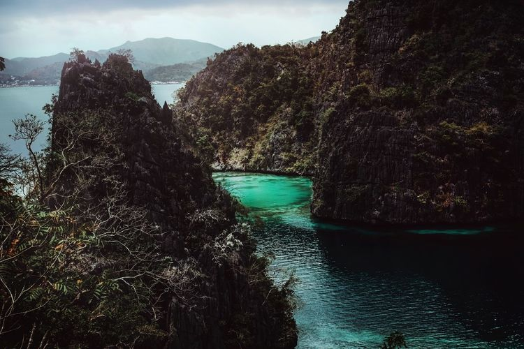 The Lagoon Lagoon Paradise Landscape EyeEm Selects Turquoise Water Cliffs And Sea Travel Destinations EyeEm Best Shots Landscape Philippines Water Sea Mountain Rock Formation
