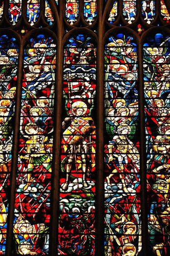 Innocence Church Architecture Church EyeEmNewHere Pattern Multi Colored Backgrounds Full Frame Indoors  Stained Glass Design No People Place Of Worship Creativity Belief Floral Pattern Glass - Material Glass Art And Craft Architecture Day Window Close-up Craft EyeEmNewHere