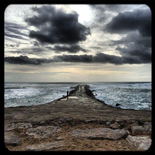 Praia do CDS, ou o que resta dela... IPhone Photography Beach Weather Portugal The Great Outdoors - 2016 EyeEm Awards