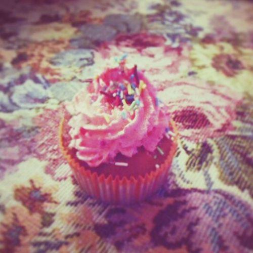 pink cupcake @ My Kitchen Love Sweet♡ First Eyeem Photo