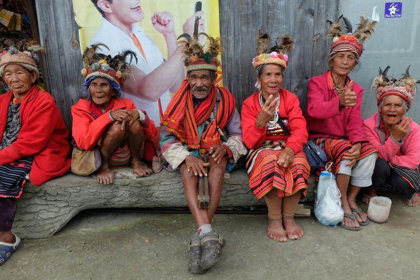 the Igorots of Banaue Asian Culture Elders Respect The Elders National Costume Igorot Happy People