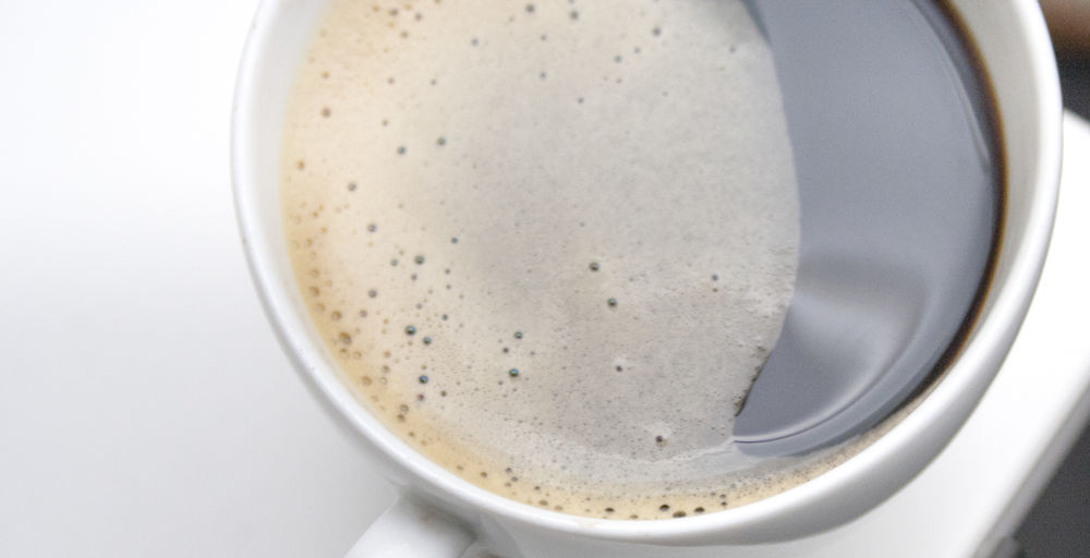 Black Coffee Black Coffee Close-up Coffee Coffee - Drink Coffee Cup Drink Food And Drink Frothy Drink Mocha No People