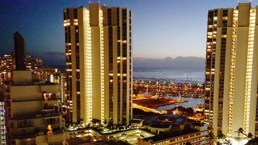 Downtown Honolulu Citylife Islandlife Balcony View Honolulu, Hawaii First Eyeem Photo