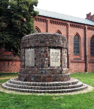 Rotenburg An Der Wümme Worldwar2 Memorial Worldwar1