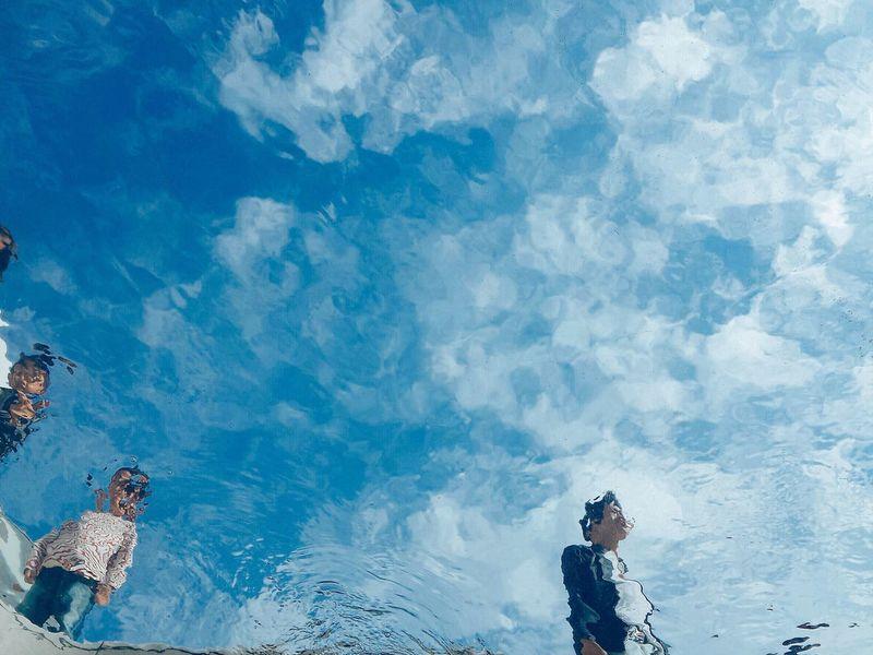 Sky Blue Sunlight Underwater Swimming Pool Art Kanazawa21museum Blue Water Fish Seacreatures Day Japan EyeEmNewHere