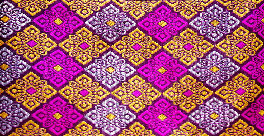 Full Frame Shot Of Patterned Fabric