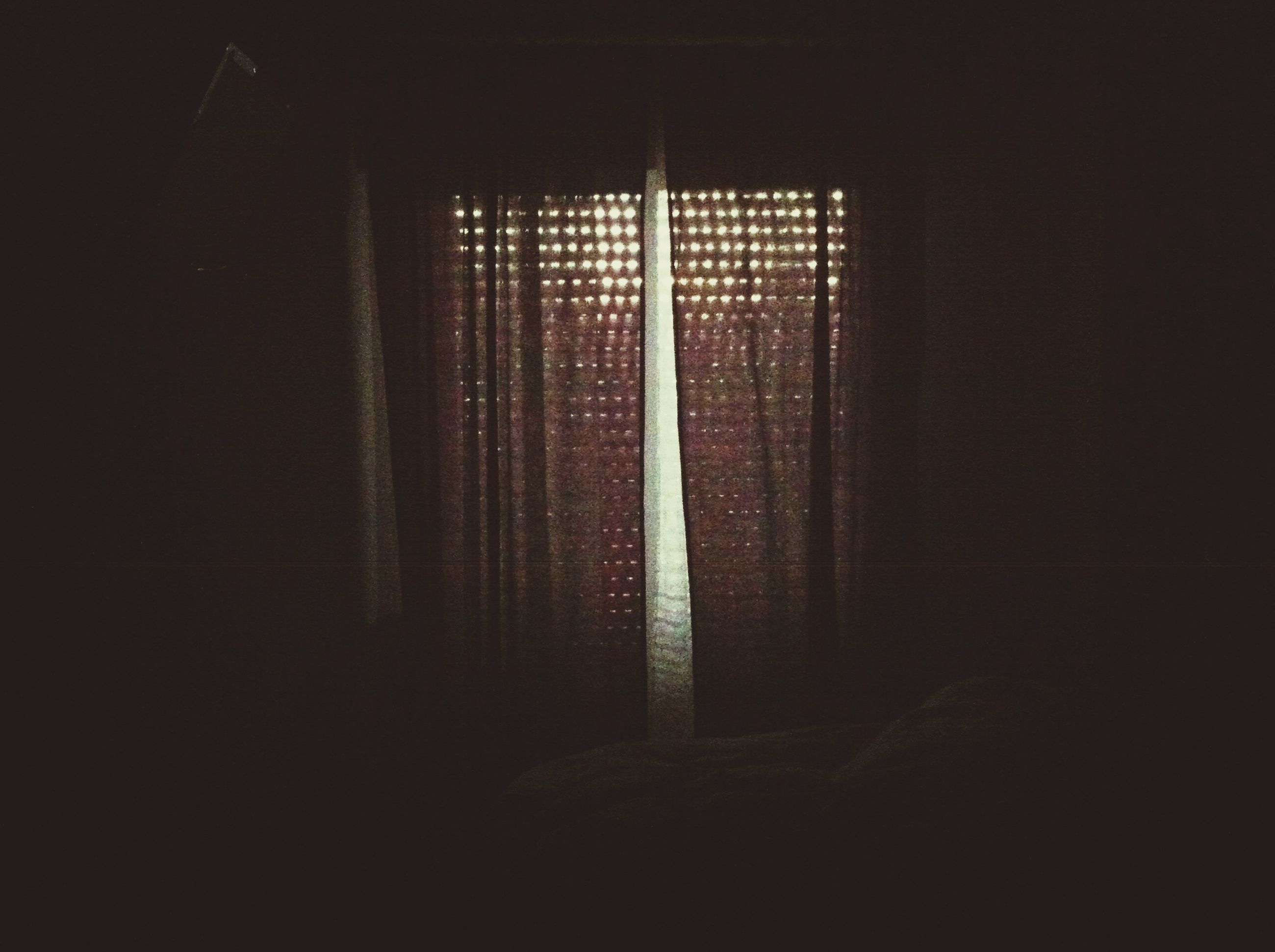 indoors, window, architecture, built structure, dark, door, home interior, wall - building feature, closed, house, sunlight, shadow, no people, wall, entrance, absence, empty, room, curtain, doorway