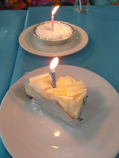 Birthday Cake Flame Heat - Temperature Dessert Burning Celebration Birthday Birthday Candles Cake Candle