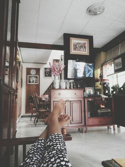 Home Sweet Home Relaxing Enjoying Life