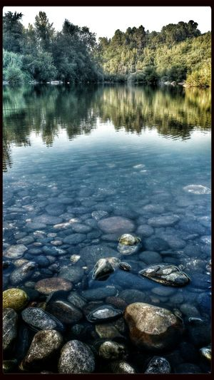 Water Reflections Nature Photography River Reflection #portugal