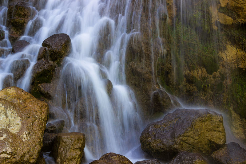 Albania Beauty In Nature Blurred Motion Environment Falling Water Flowing Flowing Water Forest Land Long Exposure Motion Nature No People Non-urban Scene Outdoors Power In Nature Rainforest Rock Rock - Object Rock Formation Scenics - Nature Solid Water Waterfall