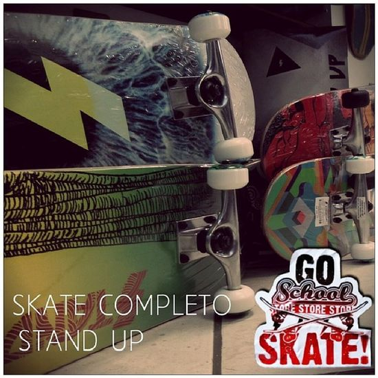 Skate Completo Standup Importado novidade variedade schoolstore school store core lifestyle urbanwear skateshop boardshop siga followme follow me