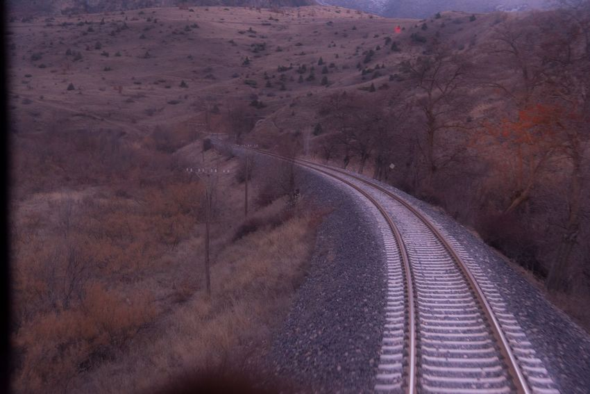 Scenics Railway Transportation The Way Forward Railroad Track Outdoors Day No People Nature