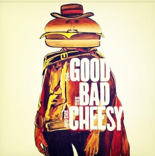 Hungryman Cheezywestern Badburger Eatingismyhobby