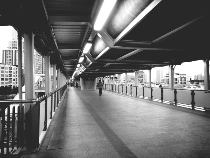 alone Bts Train Station Alone Human Man Architecture Building Perspective Way Pathway Light Light And Shadow Shadow Shadows & Lights Blackandwhite Black And White Black & White Metropolis Bangkok Thailand City Life City Life City Subway Train Architecture Subway Subway Station Ceiling Light  Metro Train Railroad Station