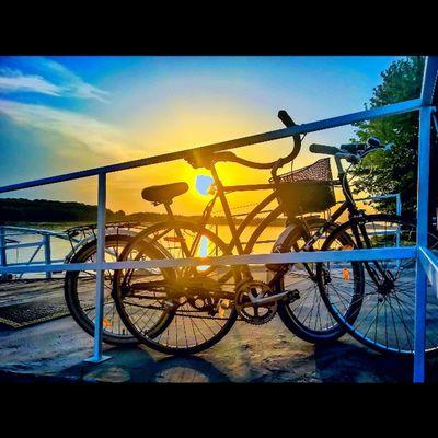 One picture two passion Bicycle Sunset HDR Lumia WeLoveLumia Lumia930 Viewmysunset Sunset_madness Sunsetlovers Sunsetporn Windowsphone Hungary Kalocsa Danuberiver Tgif_sunset Rsa_sky Mik Super_photosunsets