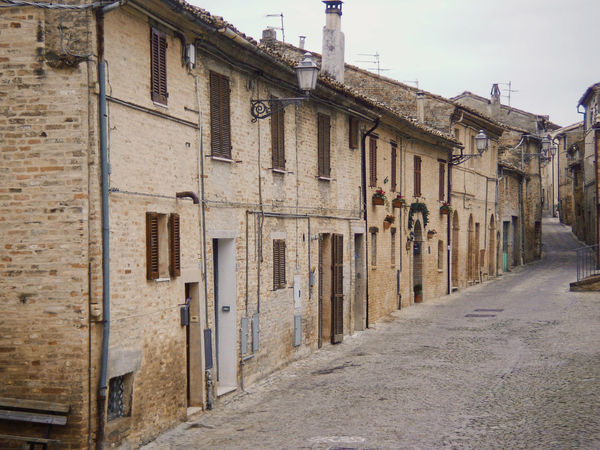Architecture Building Exterior Built Structure Day No People Old Village Outdoors Row Of Houses Street The Way Forward
