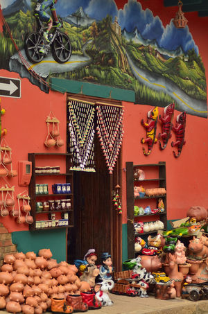 Art And Craft Colorfull Life Culture And Tradition Decoration Handicrafts Large Group Of Objects Lifestyles Outdoors Rustic Style Street Photography