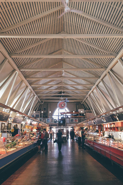 Airport Airport Terminal Architecture Arrival Built Structure City Day Fish Fish Market Goteborg Gothenburg Gothenburg, Sweden Göteborg, Sweden Indoors  People Sweden Travel Travel Destinations
