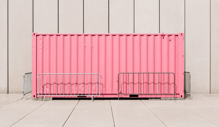 Excitement Container Balance Container Geometric Leading Lines Light And Shadow Minimal Pastel Pink Rule Of Thirds Shipping Containers Structure Sunlight Symmetrical Symmetry Symmetryporn Color Palette EyeEm X Lexus - Your Design Story Colour Your Horizn