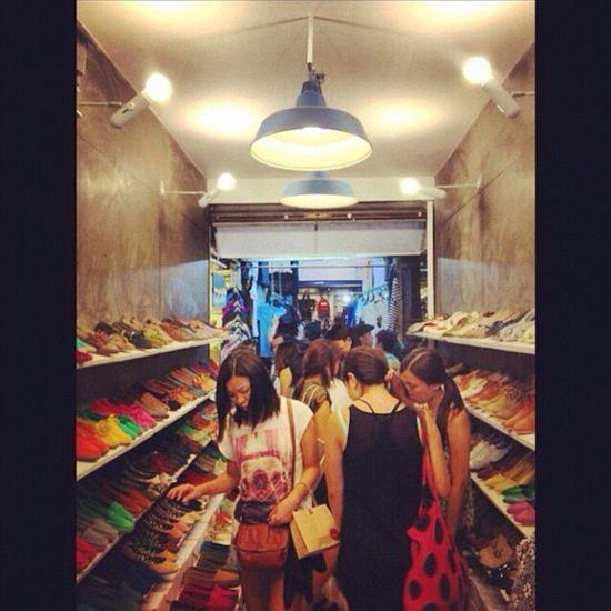 Shopping time Enjoying Life Shoe Shop Sunday Market Chatujuk Walking In My Shoes. My Friend's Shop Women Around The World