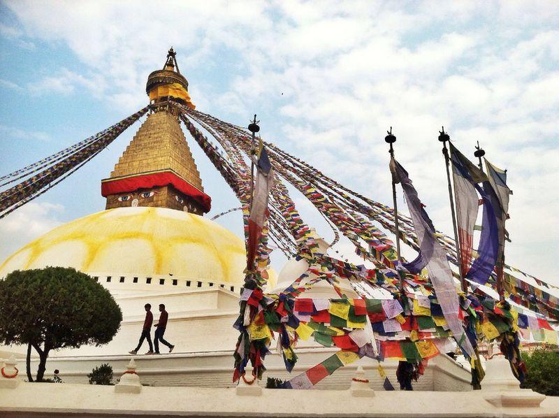 Nepal Travel Traveling Buddha IPhoneography Stupa Kathmandu, Nepal Colors