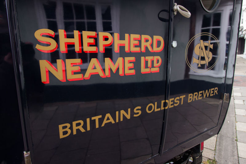 Shepherd Neame,Faversham Car Show Shepherd Neame Vivid International Getty Images Travel Destinations Tourism Garden Of England Brewery Beer Spitfire Ice Cream Austin Van EyeEm Gallery Text Communication Western Script Sign No People Capital Letter Close-up Information Day Information Sign Yellow Guidance Illuminated City Outdoors Black Color Architecture Glass - Material Transparent Red