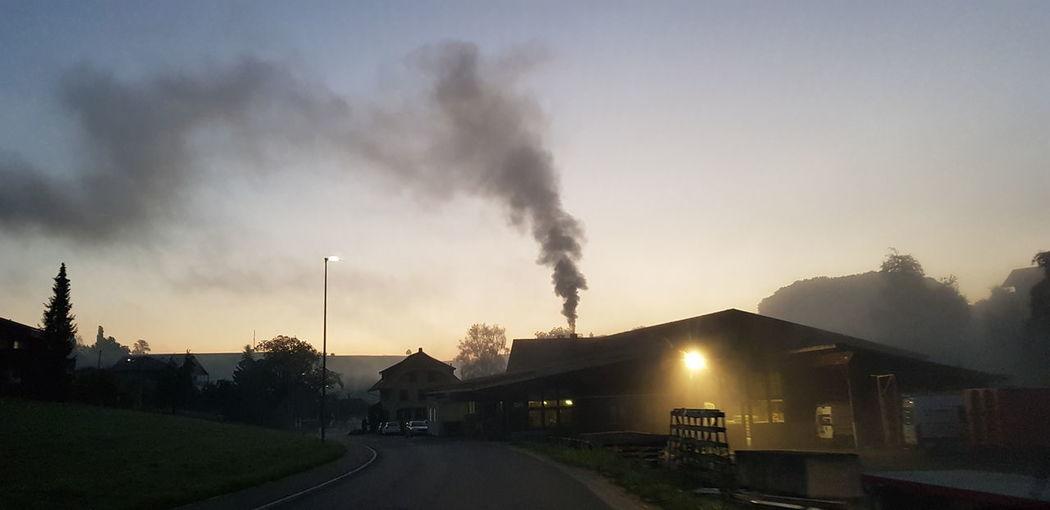 Factory Smoke -