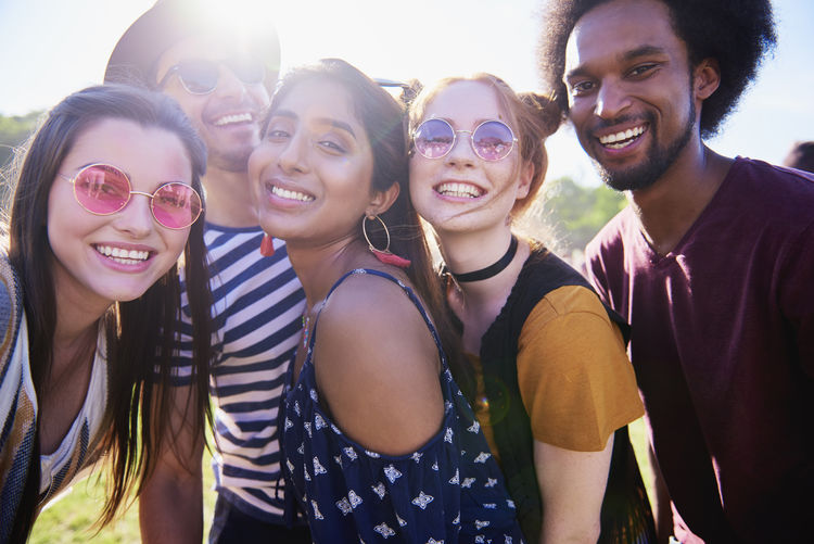 Selfie of five best friends Selfie Friends Festival Music Festival Traditional Festival Smiling Toothy Smile Photography Multi Ethnic Group Young Adult Group Of People People Outdoors Memories Summer Party Music Boho Adult Asian  Indian African Youth Culture Women Men Photography Themes Portrait Happiness Traveling Carnival Entertainment Photo Messaging Popular Music Concert Festival Goer Freedom Joy Live Event Embrace Sunglasses Fashion Fashionable Sunlight Sunny Positive Emotion Look At Camera