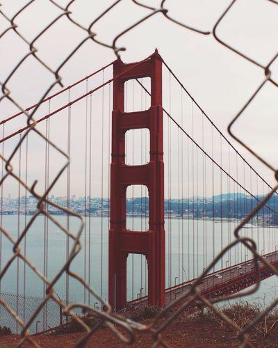 A Gated View Golden Gate Bridge California San Francisco Bridge Bridgeporn Architecture Architecture_collection