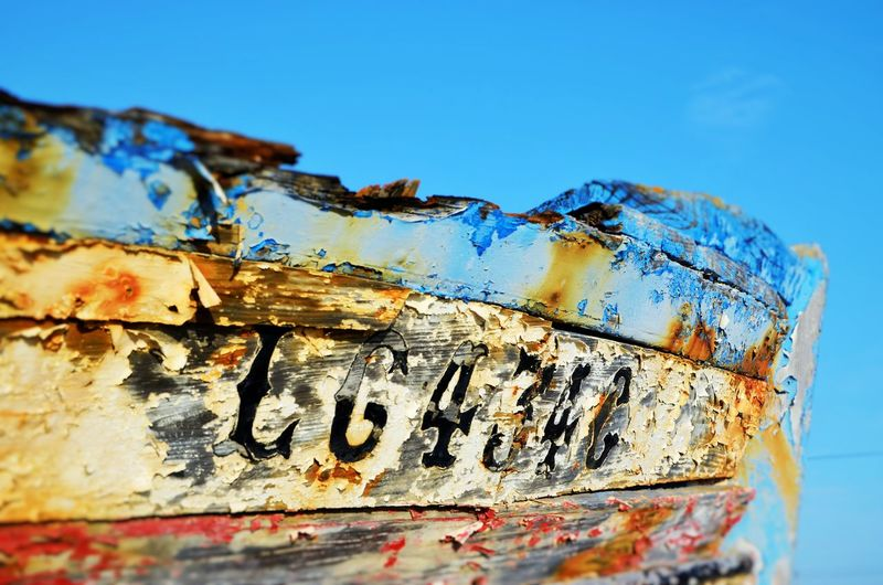 Colors Lagos Portugal Rotterdam Blue Boat Close-up Day No People Old Outdoors Paint Rusty Ship Time EyeEmNewHere Perspectives On Nature My Best Travel Photo The Great Outdoors - 2019 EyeEm Awards