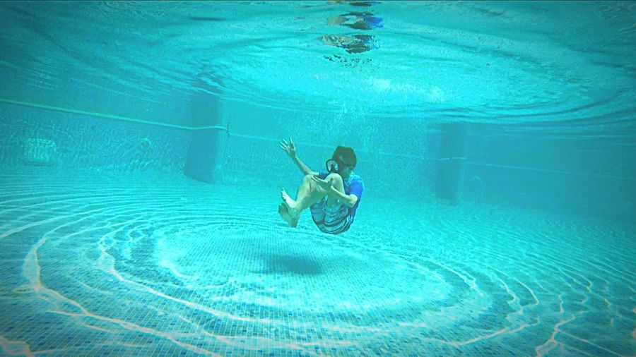 Into The Pool Alone