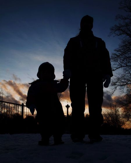 Family Family Silhuette Näsinneula Tampere Suomi Finland People Daughter Sky And Clouds Sunset Here Belongs To Me People Together