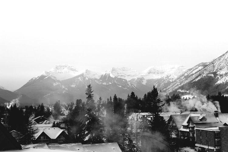 Banff  Banff National Park  Banff Townsite Wintertime Winter Morning EyeEm Best Shots Canada