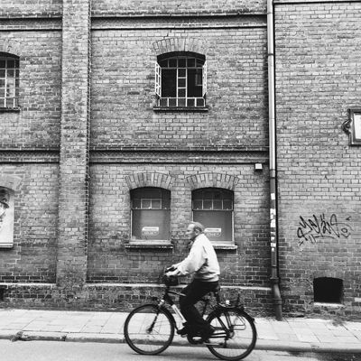 Black And White Bike Graffiti Taking Photos Capturing Freedom