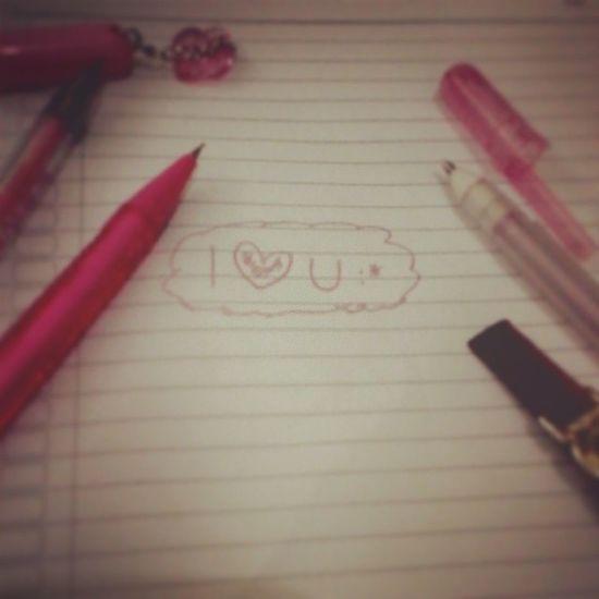 Me Iloveu  Pinkday Pen pencileditbymeinstalikeinstafollowlikeforlikefollowforfollowdoubletaphappyinstatodayinstalove