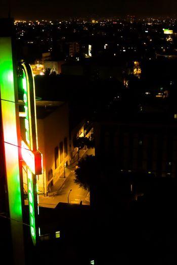 Neon Lights Luz Neon Ciudad Ciudad De Noche Ciudad De México Noche Iluminado Night Illuminated Arquitecturamexicana Arquitectura Architecture Building Exterior City No People Sky EyeEmNewHere