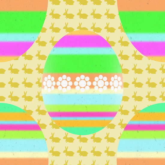Easter eggs and rabbits. Bright colors. Digital art Abstract Art ArtWork Background Bright Colors Bunny  Celebration Collage Art Colorful Design Digital Art Easter Easter Eggs Eggs Greeting Card  Holiday Illustration Illustrative Multicolored Ornament Pattern Rabbits Religious Holiday Stripes Pattern Vibrant Color