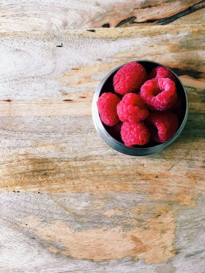 Raspberries Raspberry Eat Healthy Eating Fruit Close-up Cooking Fresh Food Freshness Wood High-angle View Flat Lay Delicious Still Life Table Food And Drink Food Wellbeing Red Berry Fruit No People High Angle View Indoors  Ripe