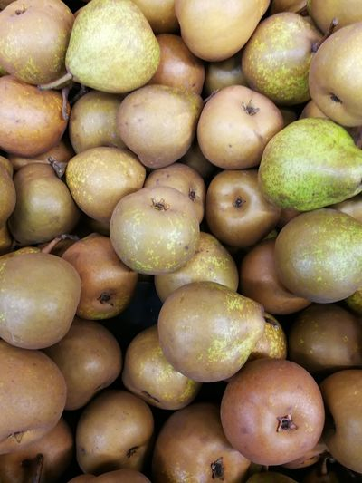 Nashi pears. Healthy Eating Food Food And Drink Full Frame Backgrounds Freshness Large Group Of Objects Market Fruit Healthy Lifestyle Close-up Supermarket Abundance Pears Nashi Pears