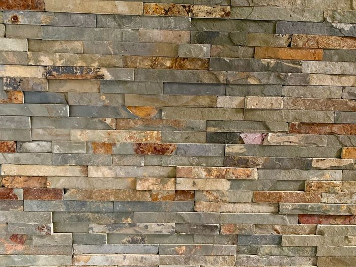 Full Frame Backgrounds Pattern Wall - Building Feature Textured  Day No People Brick Built Structure Architecture Brick Wall Outdoors Wall Rough Brown Building Exterior Repetition Design Flooring Sunlight