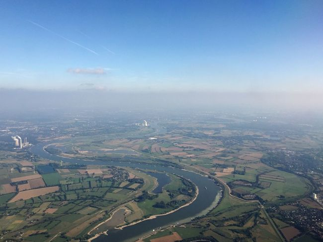Aerial View Landscape Scenics Sky Water Tranquil Scene Tranquility Cloud Blue Day Travel Destinations Cloud - Sky Rural Scene Beauty In Nature Non-urban Scene Farm Outdoors Nature Wide Shot Majestic River Let's Go. Together.